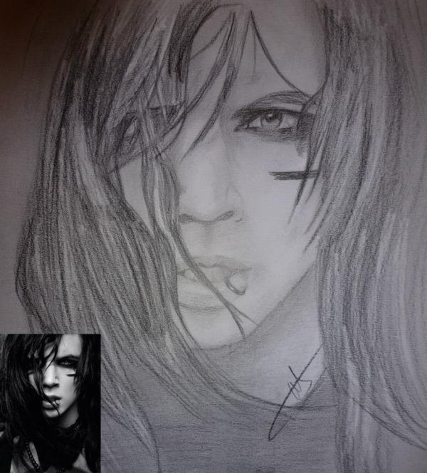 Andy Biersack by Ninis